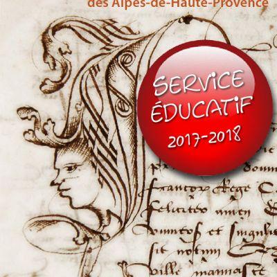 Programme du service éducatif 2017-2018