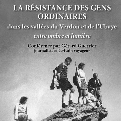 Conférence Gérard Guerrier