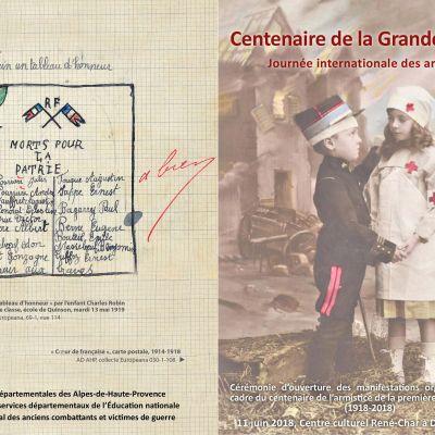 Centenaire de la Grande Guerre