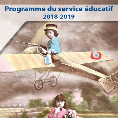Programme du service éducatif 2018-2019