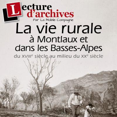 Lecture d'archives à Montlaux