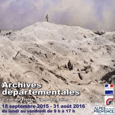 Exposition 15-16... L'enlisement et Verdun