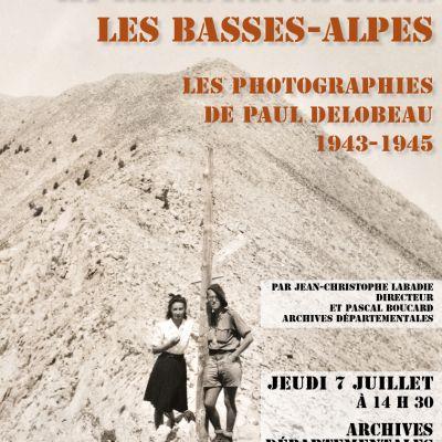 Conf�rence la r�sistance dans les Basses-Alpes