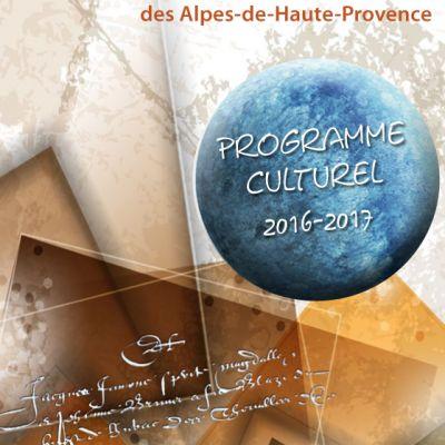 Programme cultuel 2016-2017