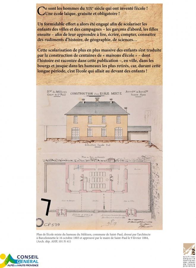 Les Maisons Dcole XixeXxie Sicle  Archives Dpartementales