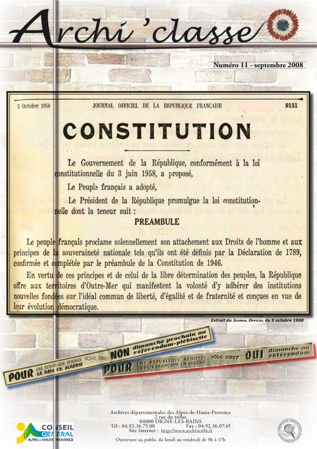 LA CONSTITUTION DE 1958 DOWNLOAD