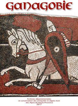 Ganagobie : et ses mosaïques du XIIe siècle / Archives départementales et conservation des antiquités et objets d'art des Alpes-de-Haute-Provence | Labadie, Jean-Christophe. Auteur